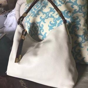 Michael Kors white purse